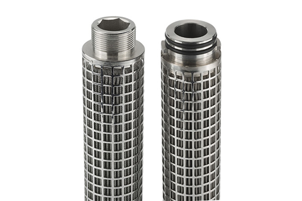 63 PHSF Stainless Steel Sintered Fiber Felt Filter Cartridge