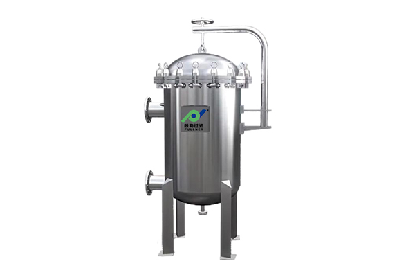 Multi Bag Filter Stainless Steel Filter Housing