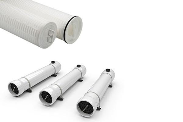 Single High Flow Filter FRP Membrane Housing