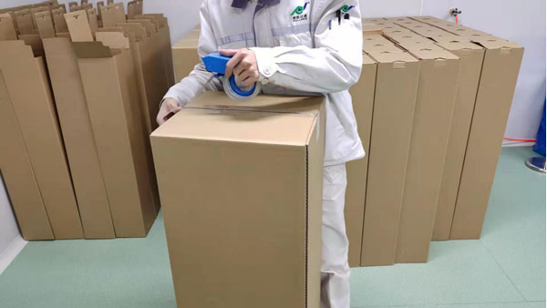 packing the high flow filters
